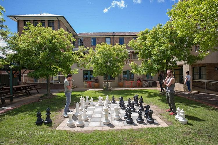 Blue Mountains YHA - Outdoor Chess Board