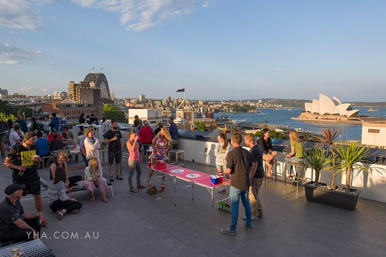 Rooftop Harbour Views - Sydney Harbour YHA