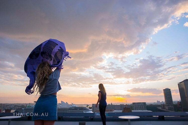 Rooftop Sunrise - Sydney Harbour YHA