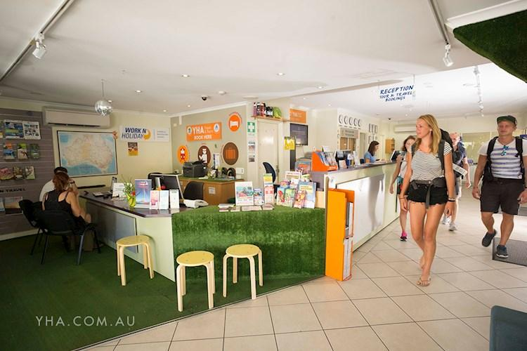 YHA Cairns Central - Reception