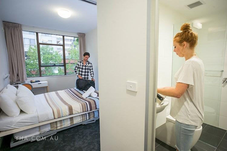 Canberra City YHA - Private Ensuite Rooms