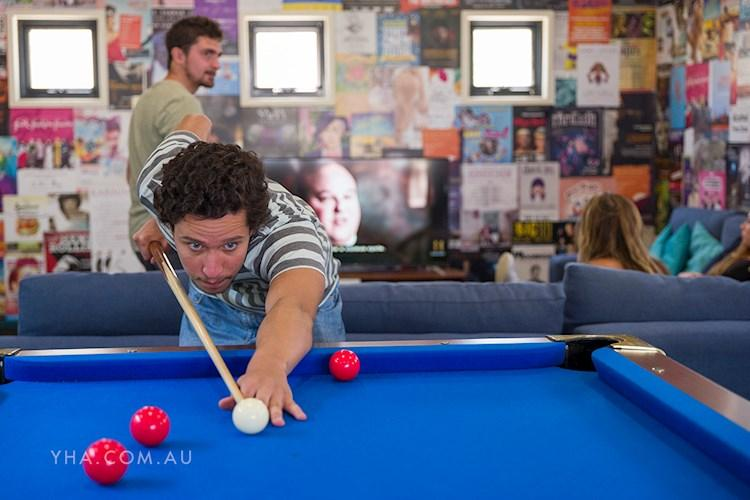 Canberra City YHA - Pool Table